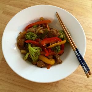 buntes Asia Beef