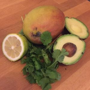 Zutaten Mango-Guacamole