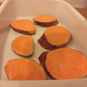 Süßkartoffelscheiben