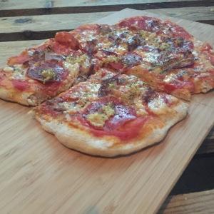 fertige Männerpizza