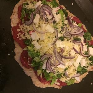 fertig belegte Herbstpizza